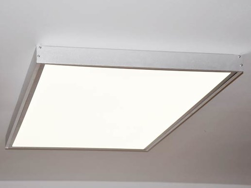 Surface mounted ceiling light 120x60cm silverframe aloadofball Images