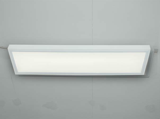 Grosse LED Deckenleuchten mit LED Panel dimmbar als Anbauleuchte