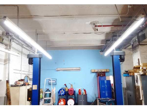 LED Umr�stung KFZ Werkst��ten und Lackierbetriebe