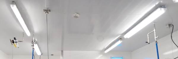 LED Umr�stung Produktionsbetrieb