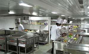 Geruchsreduzierung und geringere Keimbelastung in Großküchen mit unseren LED-Panels. Foto:Arjun Kartha_Neu_Delhi