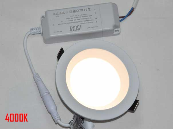 LED recessed spotlight dimmable 130mm Ra90 Samsung LED IP44