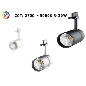 Innovative dimmable lamps for 3-phase track system