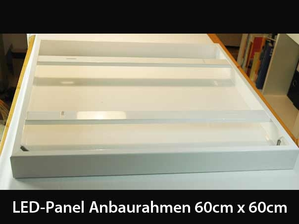 mounting frame for 60x60 led panels white. Black Bedroom Furniture Sets. Home Design Ideas
