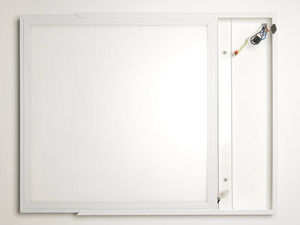 mounting frame for 60x60 led panels white. Black Bedroom Furniture Sets. Home Design Ideas