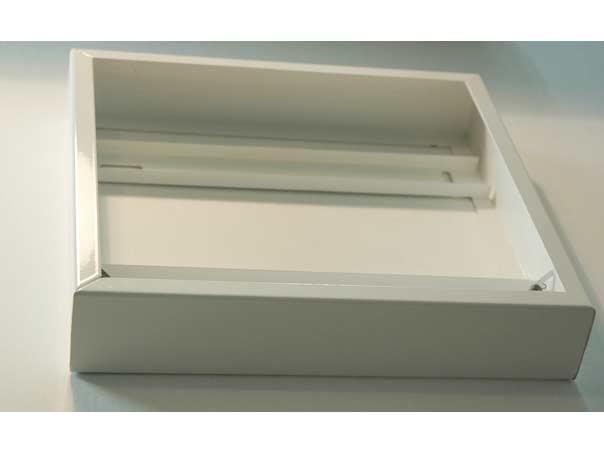 rahmen f r deckenmontage f r led panel 30cm x30cm wei. Black Bedroom Furniture Sets. Home Design Ideas