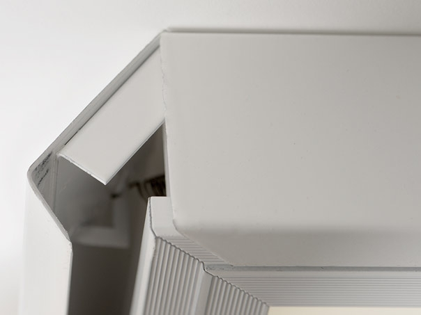 led deckenleuchte 60x60cm m osram leds neutralwei dimmbar 450. Black Bedroom Furniture Sets. Home Design Ideas