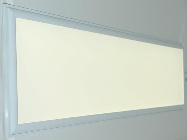 led panel light 120 x 30 white 3200 lumen 45w cri 80. Black Bedroom Furniture Sets. Home Design Ideas