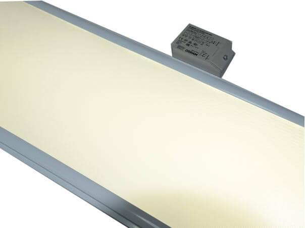 led panel 120x30 mit osram netzteil 4000k ugr. Black Bedroom Furniture Sets. Home Design Ideas