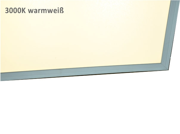 led panel 120x60 dimmbar warmwei 3000k wei er rahmen t u. Black Bedroom Furniture Sets. Home Design Ideas