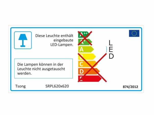 ledpanel light 620 x 620mm lumen tv gs