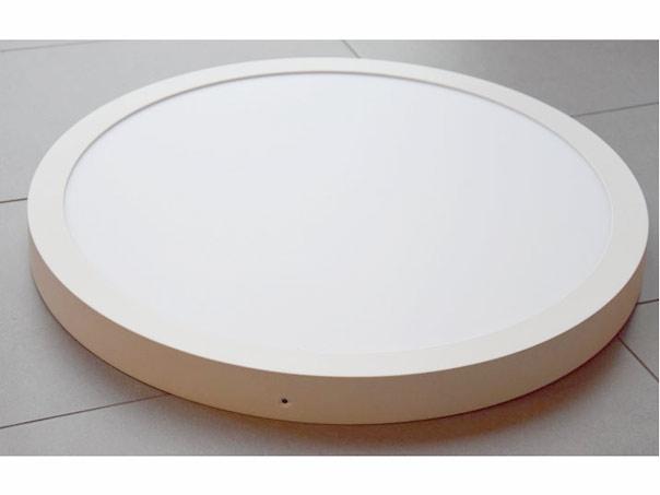led panel rund neutralwei 50cm f r deckenmontage wei szli. Black Bedroom Furniture Sets. Home Design Ideas