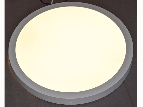 Runde led deckenleuchte 50cm deckenmontage wei 2800 lumen 4cm for Runde led deckenleuchte