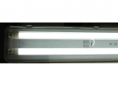 2x150cm moisture proof fluorescent LED light fixture -IP65-230V + 2 T8 LED tube