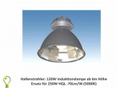 High bay Induction light: 120 watt for 250 watt HID lamp 70 Lm/W  (5000K)