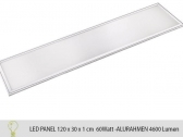 Ultraslim Edge-Lit LED panel 120cmx30cm 10mm  aluminium...