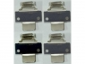 Set of 4 mounting brackets for LED panels in plasterboard ceilings