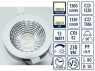 LED reflector Downlight 145mm UGR<19