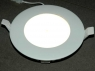 193mm 15W LED-Downlight white with 4000K or 3000K and 40.000h life time