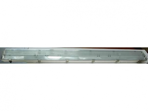 2x 150cm moisture proof fluorescent LED light fixture -IP65-230V