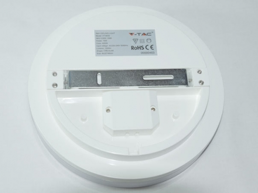 22cm LED dome light IP44 15W 4000K neutral white