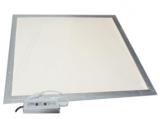 ip65 led panel 4000k neutralwei 60x60cm 840 silberner aussen. Black Bedroom Furniture Sets. Home Design Ideas