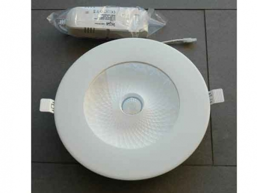 245mm LED-Downlight with 4000K or 3000K