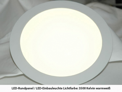 6 inch  LED-Downlight- recessed luminaire -15watts-1100lm cri>80 190x20 mm and 175mm hole diameter