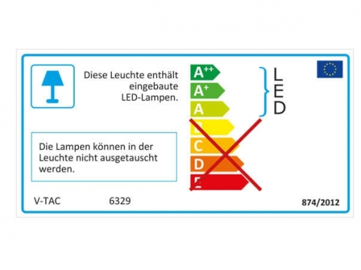 LED Panel 120x30 flickerfrei | no flicker 4500K Bildschirmarbeitsplatz UGR<19