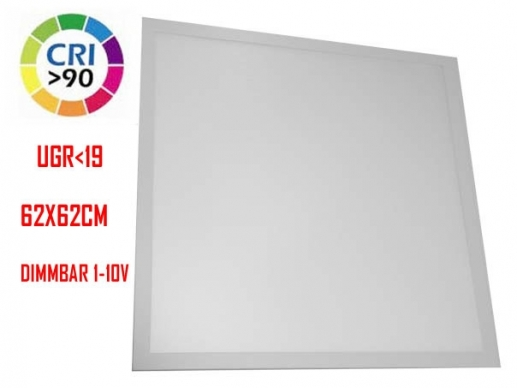 LED-Panel light 62x62  white 3600 Lumen CRI>90