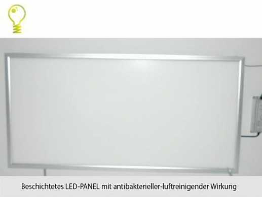 Hygienic LED Panel HG Lights 120 x60cm with antibacterial effect 3000K-70W