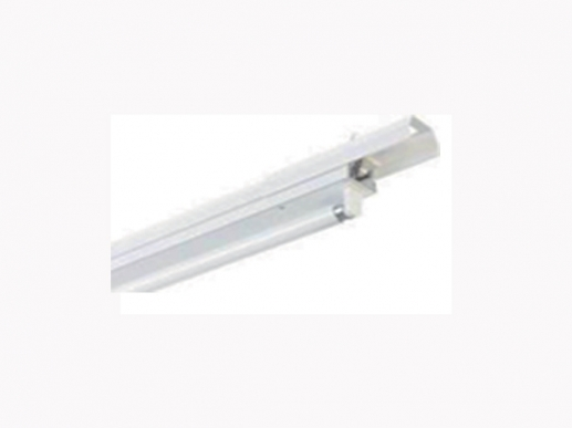 LED quick assembly system for T8 LED tubes
