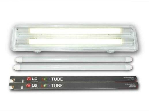 60cm d&-proof LED light fixture incl 2x T8 tubes LG Electronics moisture-proof ...  sc 1 st  Cologne LED & 60cm damp-proof LED light fixture incl 2x T8 tubes LG Electronics mo