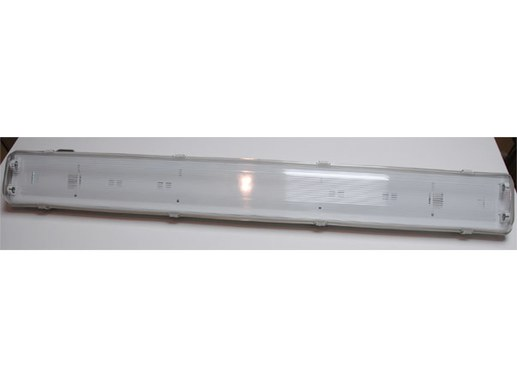 Twin 120cm damp-proof LED luminaire - moisture-proof -IP65
