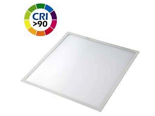 LED-Panel 300 x 300mm UGR<19 BAP.Helle 1500 Lumen wei�er Alurahmen 3000K