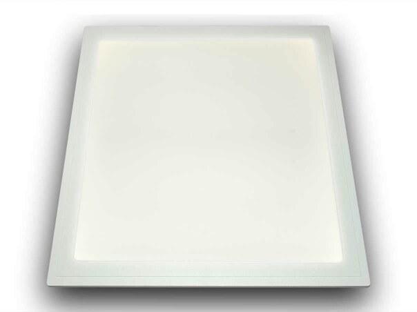 ip65 led panel 4000k 62x62cm 24 volt inkl osram netzteil ip66 50w. Black Bedroom Furniture Sets. Home Design Ideas