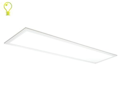 120x30cm LED panel w. OSRAM-LEDs  4500lm 14mm high dimmable 4000K 83 lm/watt