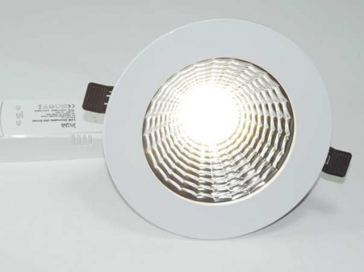 LED reflector Downlight 190mm UGR<19 5 years warranty