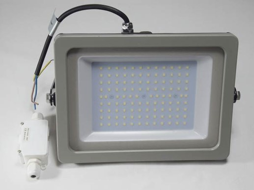 100W LED Aussenstrahler SLIM Design 8400 Lumen IP65 neutralweiß 840 4500K