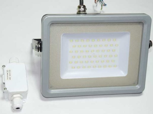 50W LED floodlight IP65 with slim design