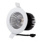 116mm LED reflector Downlight UGR<19 3000K 1-10V dimming