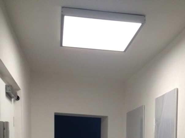 Superflache led panels