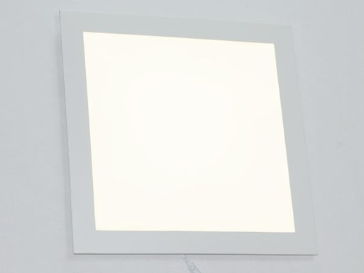 Large flat 30x30cm LED Downlight 285mm cut out size