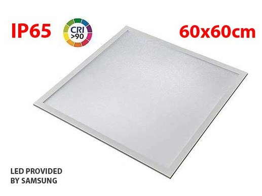 LED Panel 60x60cm IP65 in 4000K neutral white with SAMSUNG LEDs