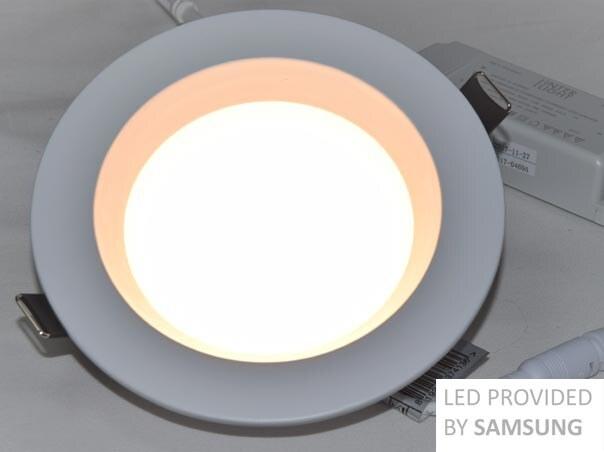 12W 90mm LED Einbaustrahler Dimmbar set CCT Veränderbar Deckenleuchten IP44 230V
