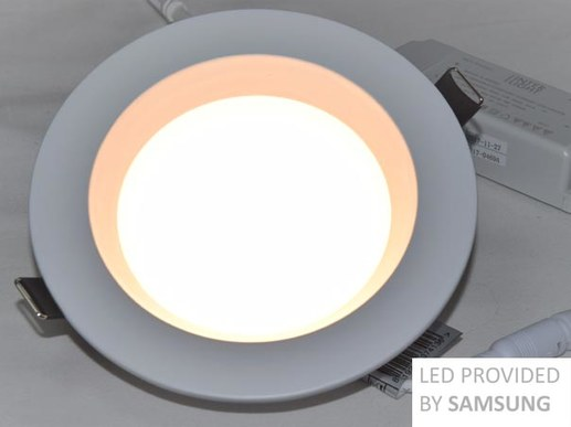 LED Downlight dimable 130mm Ra90 Samsung LED IP44