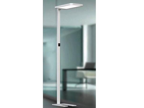 led stehlampe dimmbar b ro oder schreibtisch 195cm mit bewegungssensor. Black Bedroom Furniture Sets. Home Design Ideas