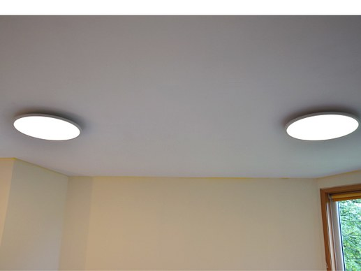 LED Panel Round dimmable 60cm with color change and remote control 3000K-6000K