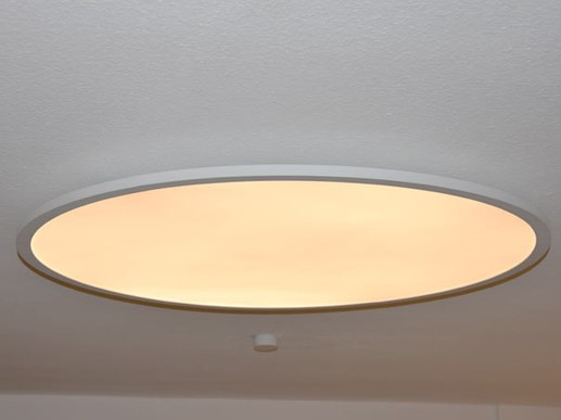 Large round 100cm LED ceiling light color change and remote control 3000K-6000K