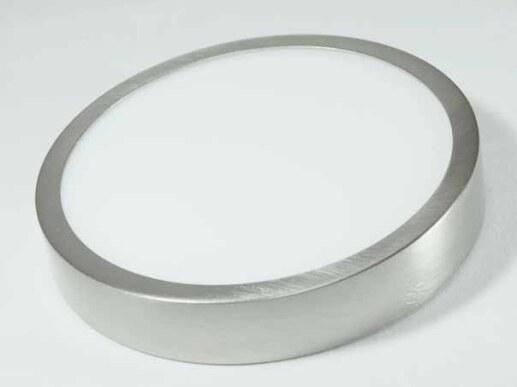 14cm Runde Flache Led Deckenleuchte In Silber